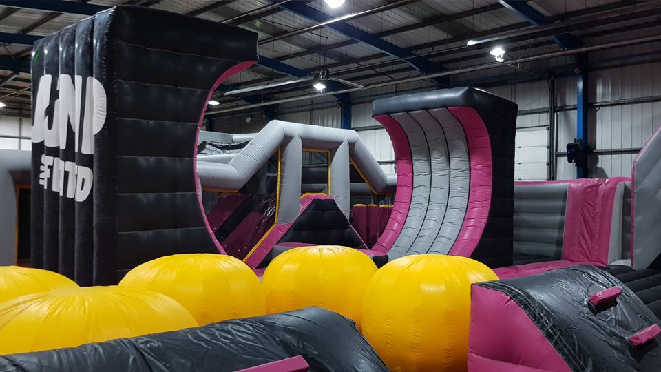 Air X is finally here! Our new brand of inflatable is now open at Jump Incflated in Rotherham