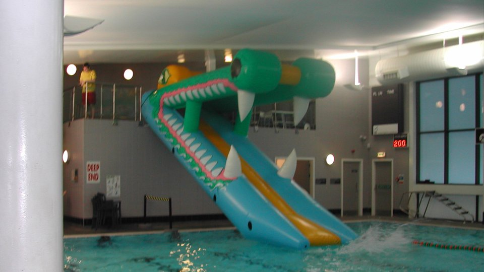 Aqua Runs Amp Wet Side Swimming Pool Inflatables Airspace