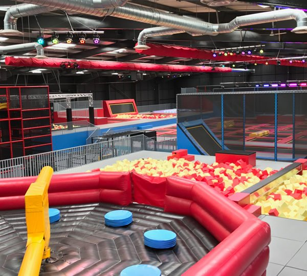 Trampolines Park by Airspace