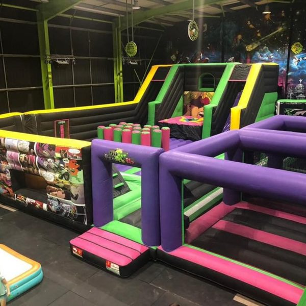 Flip Out in Bristol - Inflatable Thene Parks