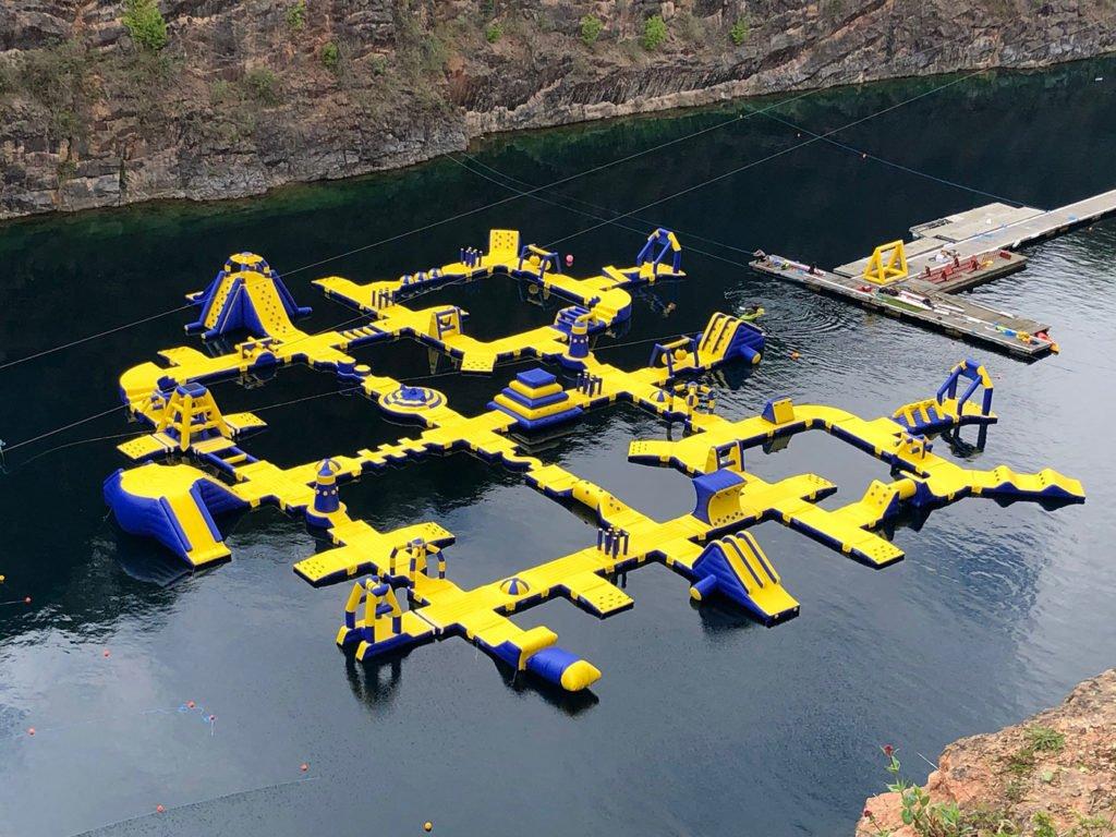 Atlantis Aqua Park. Chepstow