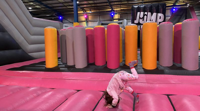Airx – JumpInc's Inflatable Theme Park in Rotherham – a user review from 'Trips with a Tot'